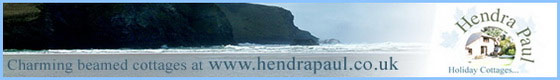 Hendra Paul Cottages - Porth - Newquay - Cornwall
